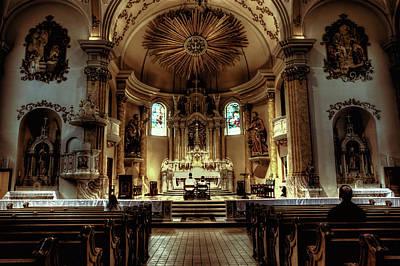 Church Of Saint Agnes Print by Amanda Stadther