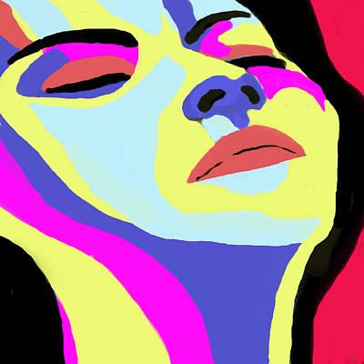 Face Painting - Face by Moshfegh Rakhsha