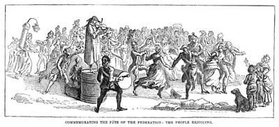 French Revolution, 1790 Print by Granger