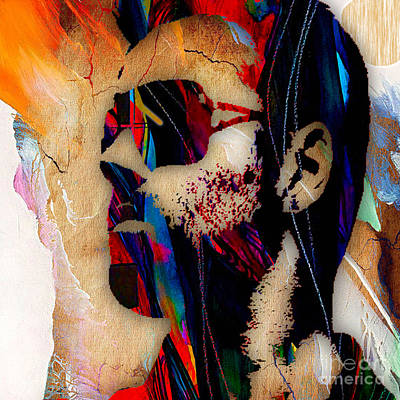 Michael Mixed Media - George Michael Collection by Marvin Blaine