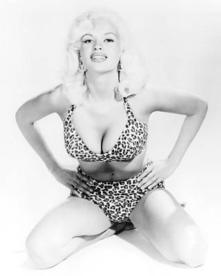Mansfield Photograph - Jayne Mansfield by Silver Screen