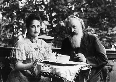 Adele Photograph - Johannes Brahms (1833-1897) by Granger