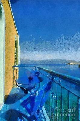 House Painting - Kastellorizo Island by George Atsametakis
