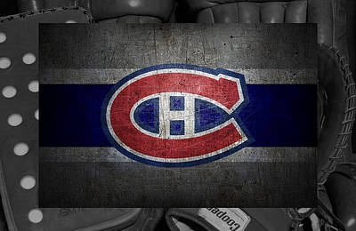 Hockey Sweaters Photograph - Montreal Canadiens by Joe Hamilton