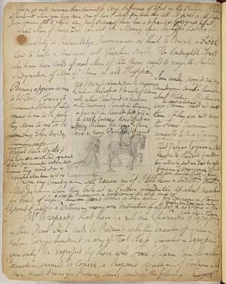Blake Photograph - Notebook Of William Blake by British Library