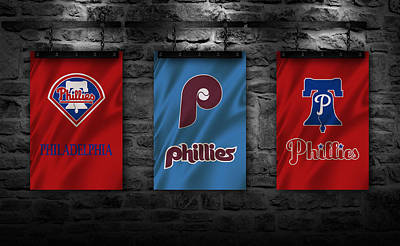 Phillies Photograph - Philadelphia Phillies by Joe Hamilton