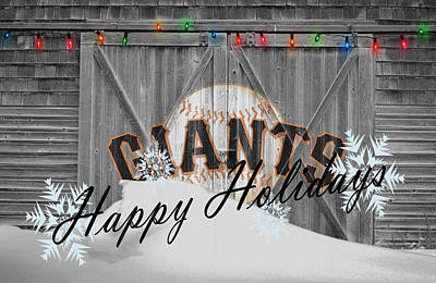 San Francisco Giants Print by Joe Hamilton