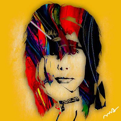 Steven Tyler Mixed Media - Steven Tyler Collection by Marvin Blaine
