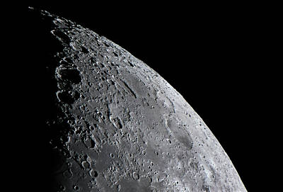 Light And Dark Photograph - Surface Of The Moon by Babak Tafreshi