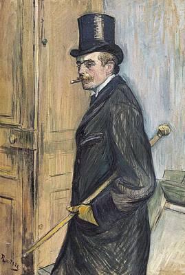 Oil Portrait Photograph - Toulouse-lautrec, Henri De 1864-1901 by Everett