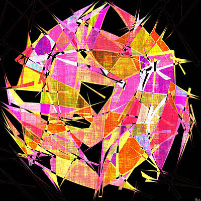 1102 Abstract Thought Print by Chowdary V Arikatla