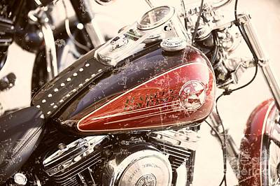 110th Anniversary Harley Davidson Original by Stefano Senise
