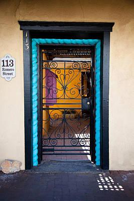Southwest Gate Photograph - 113 Romero Street by David Patterson