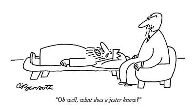 Sit-ins Drawing - Untitled by Charles Barsotti