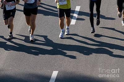Running Photograph - 11th Poznan Marathon by Michal Bednarek