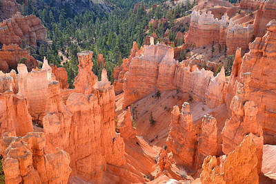 Bryce Canyon Print by Ray Mathis