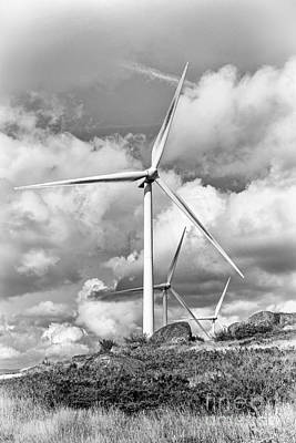 Windmill Photograph - Clean Energy - Wind Turbines by Jose Elias - Sofia Pereira