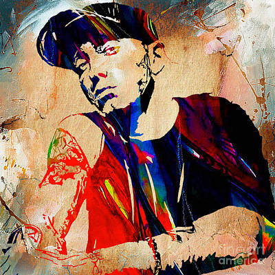 Eminem Collection Print by Marvin Blaine