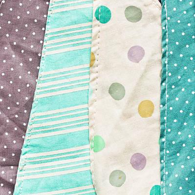 Fabric Background Print by Tom Gowanlock