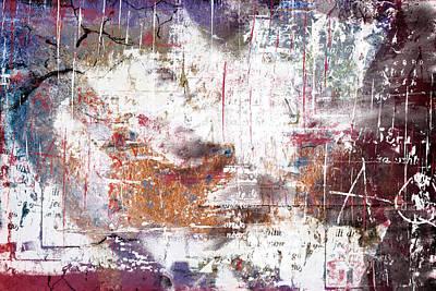Grunge Digital Art - Grunge Abstract by Modern Art Prints