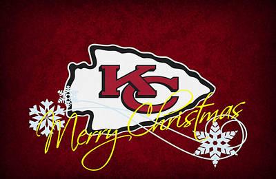 Present Photograph - Kansas City Chiefs by Joe Hamilton