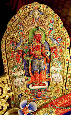 Religious Artist Photograph - Ladakh, India The Interior by Jaina Mishra