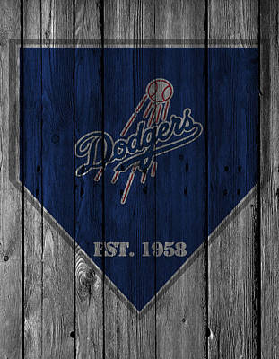 Los Angeles Dodgers Print by Joe Hamilton
