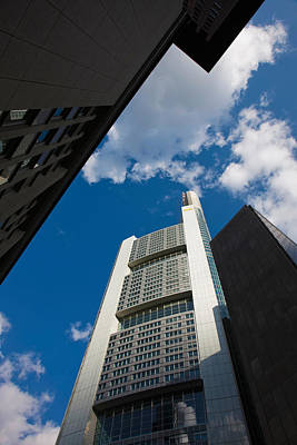 Hesse Photograph - Low Angle View Of Skyscrapers by Panoramic Images