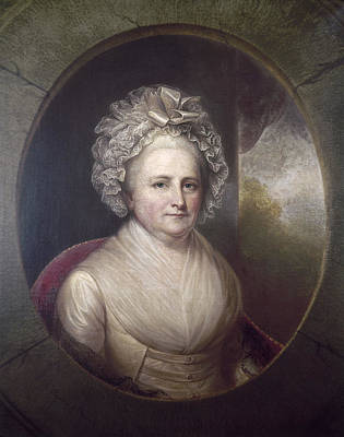 American First Lady Painting - Martha Washington by Granger