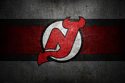 Hockey Photograph - New Jersey Devils by Joe Hamilton