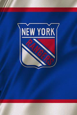 New York Rangers Print by Joe Hamilton