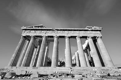 Ancient Photograph - Parthenon Temple by George Atsametakis