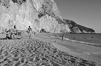 B Photograph - Porto Katsiki Beach by George Atsametakis