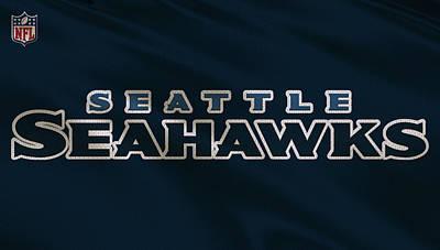Nfl Photograph - Seattle Seahawks Uniform by Joe Hamilton