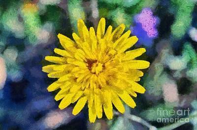 Spring Wild Flower Print by George Atsametakis