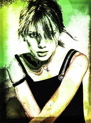 Taylor Swift Digital Art - Taylor Swift by Svelby Art