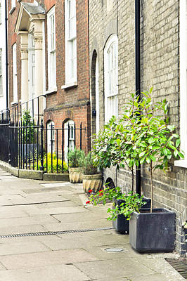 Real-estate Photograph - Town Houses by Tom Gowanlock