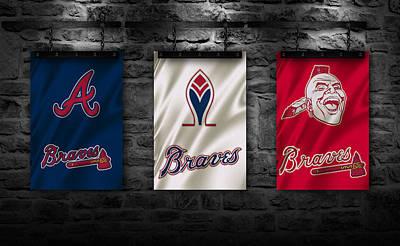 Baseball Uniform Photograph - Atlanta Braves by Joe Hamilton