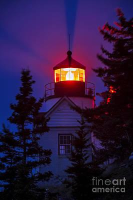 Bass Harbor Lighthouse Print by John Greim