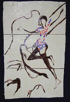 Dinka Dance - South Sudan Print by Gloria Ssali