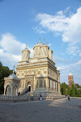 Byzantine Photograph - Episcopal Cathedral Of Curtea De Arges by Martin Zwick