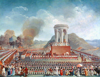 Besancon Painting - French Revolution 1790 by Granger
