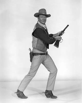 John Wayne Print by Silver Screen