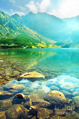 Highlands Photograph - Mountains Landscape by Michal Bednarek