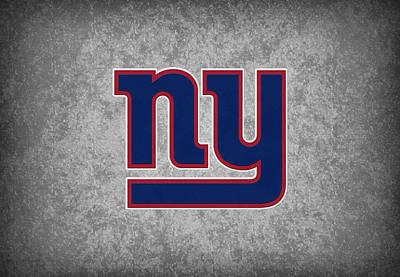 New York Giants Print by Joe Hamilton