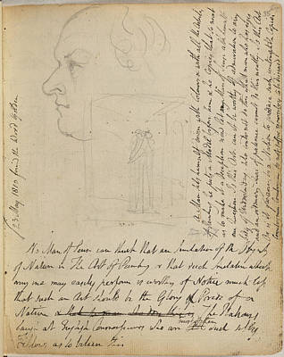 Of Painter Photograph - Notebook Of William Blake by British Library