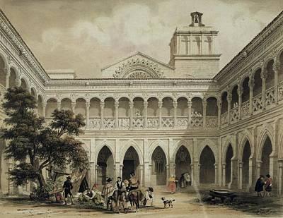 Donkey Photograph - Perez Villaamil, Jenaro 1807-1854 by Everett