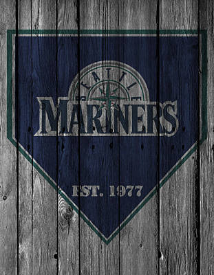 Seattle Mariners Print by Joe Hamilton