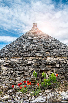 Alberobello Photograph - Trulli House by Sabino Parente
