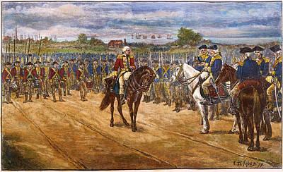 Yorktown: Surrender, 1781 Print by Granger